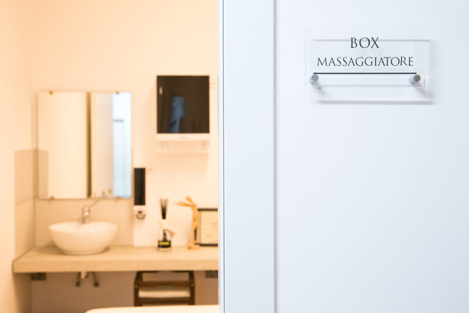 training centro massaggi milano